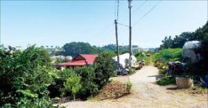 충북 서산시 바다 인근 농가주택