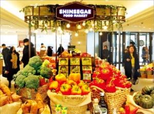 백화점 1층이 식품관으로…신세계의 파격