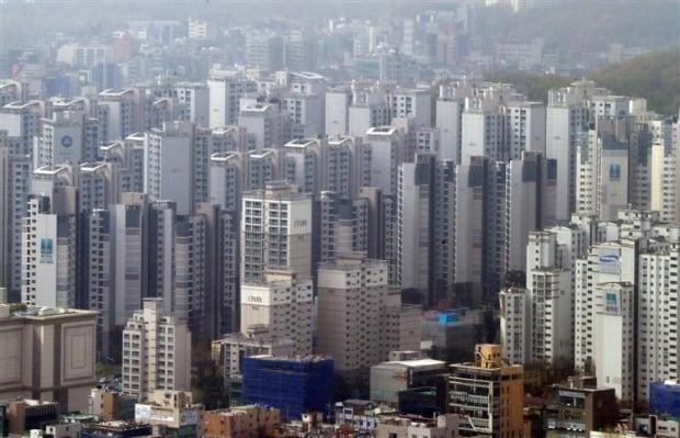 서울 강남 아파트 전경(자료 연합뉴스)