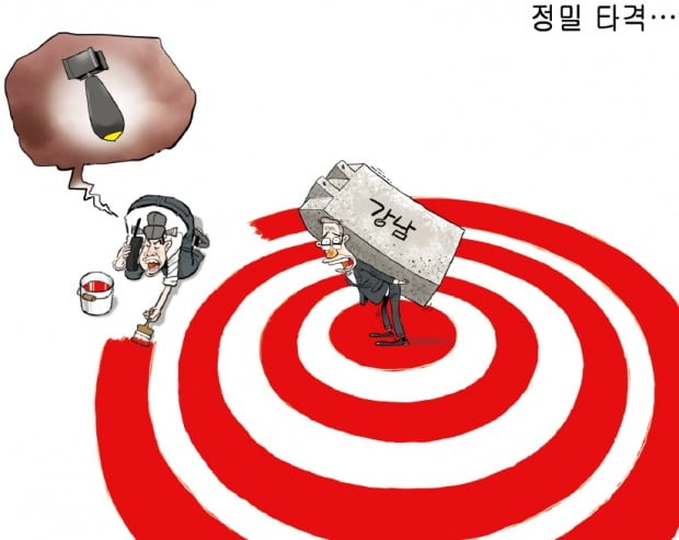 [금요 만평] 정밀 타격…
