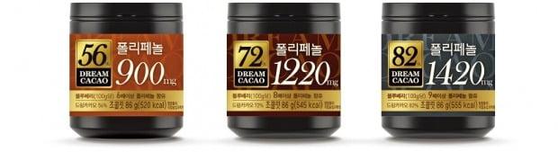 롯데제과, 폴리페놀 함유한 꿈의 선물 '드림카카오'