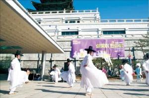지난해 설 연휴 기간 국립민속박물관에서 열린 '설맞이 한마당'.