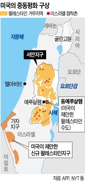 이스라엘 '정착촌 주권' 대못 박은 트럼프…아랍권, 발칵 뒤집혔다