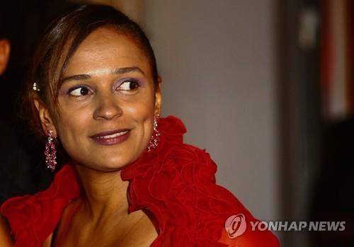 앙골라 법원, '억만장자 여성' 이사벨 자산동결 명령