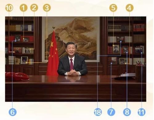 시진핑 집무실 서가에 걸린 사진 보니…'절대 권력' 의지