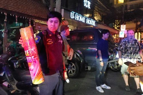 새해맞이 하려다…태국서 폭죽 '쾅' 50대 영국인 숨져
