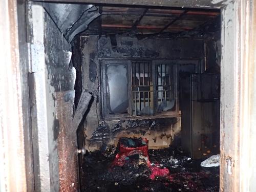 부산서 다세대주택 화재…연기흡입 1명 중상