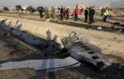 우크라 '추락 여객기, 이란 보유 러 미사일 피격 가능성' 검토
