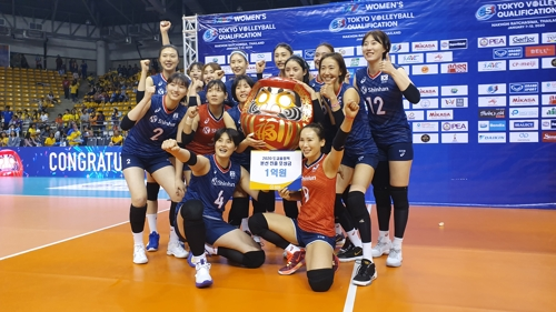 배구연맹, 도쿄올림픽 본선 진출한 여자대표팀에 1억원 포상
