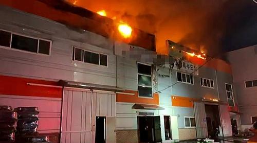 인천 가좌동 도장공장서 불…3천300만원 피해