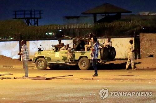 """수단 정보사 요원들, 퇴직금 불만에 반란…""""5명 사망""""(종합)"""
