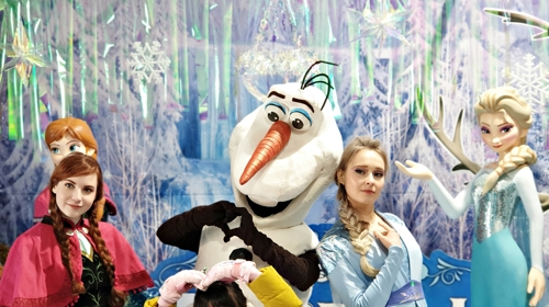 겨울왕국 '엘사'가 태백산 눈축제장에 온다고요?