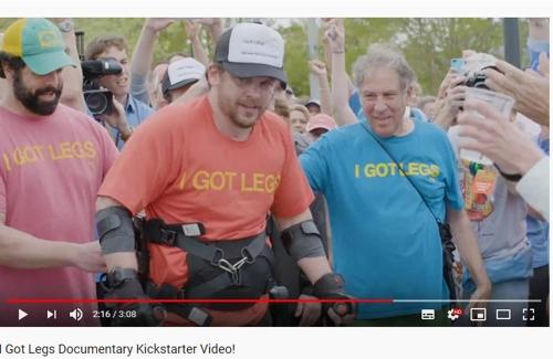 하반신 장애인, 마라톤 33시간 50분 완주…보장구 착용