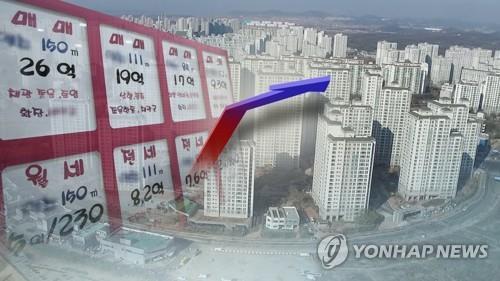 """서울 9억 이하 아파트값 상승폭 확대…정부는 """"풍선효과 없다""""(종합)"""