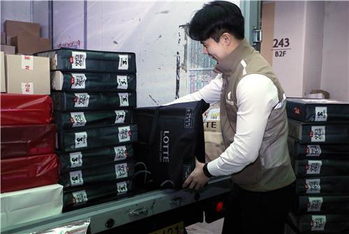 백화점업계, 설 맞아 선물세트 신속 배송 강화(종합)