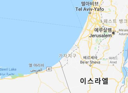 """이스라엘군 """"가자지구서 로켓포 4발 날아와…피해는 없어"""""""
