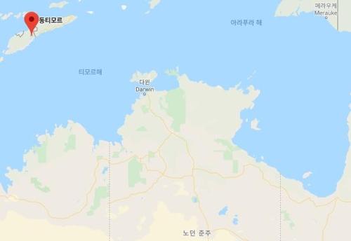 동티모르서 700㎞ 떨어진 호주로 헤엄치던 알제리인 구조