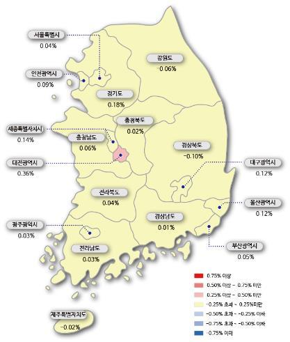 아파트값 상승폭 서울 줄고, 경기 커지고…수원·용인 초강세