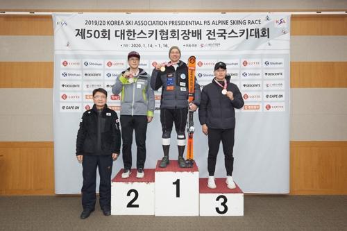드림프로그램 출신 라트비아 선수, 용평 FIS컵 알파인 스키 우승
