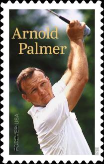 아널드 파머 기념 우표, 3월 미국에서 발행