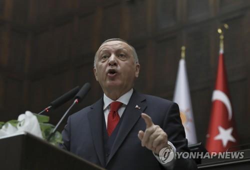 """터키 에르도안 """"리비아 합법정부 지원 계속할 것"""""""