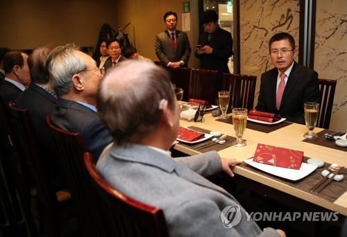 황교안, 내일 신년회견서 통합구상 발표…원희룡과도 회동(종합2보)
