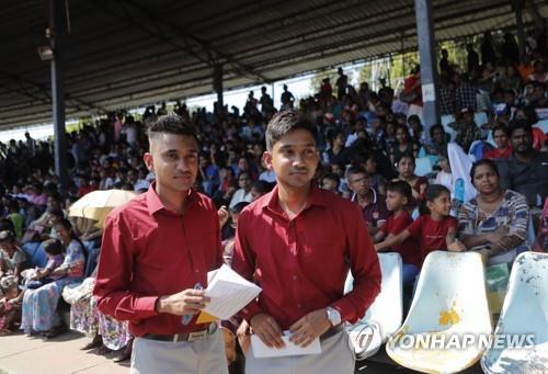스리랑카 '쌍둥이' 모두 모여라…기네스 기록 도전