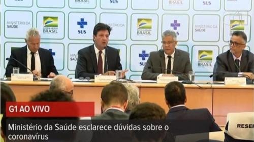 """브라질 보건장관 """"신종 코로나바이러스 관련 소문에 강력 대응"""""""