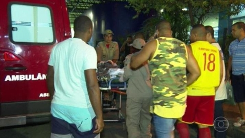 브라질 리우서 또 유탄 사건…5살 어린이 중태