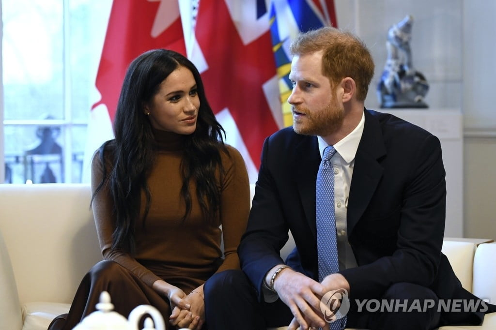 """""""英 해리 왕자 부부, 캐나다 가면 평민 대우 받을 것"""""""