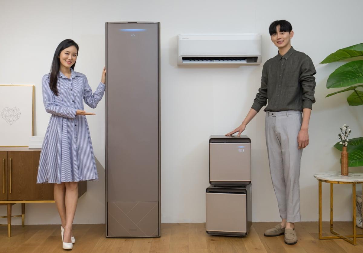 """""""바람없이 시원하게""""…삼성, AI 장착한 신형 무풍에어컨 공개"""