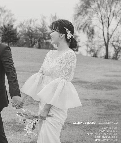 최우리 결혼발표, 그녀는 누구?…웨딩화보 `너무 예뻐`