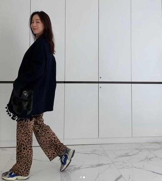 이휘재 아내 문정원, '오늘도 청순+시크한 엄마'
