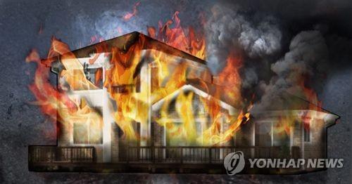 전북 장수 한 목조 주택서 불…인명피해 없어