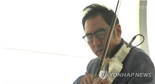 '바이올리니스트 유진박 착취·사기 혐의' 매니저 구속영장