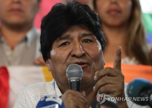 모랄레스, 볼리비아 새 대선 후보로 옛 경제장관 내세워