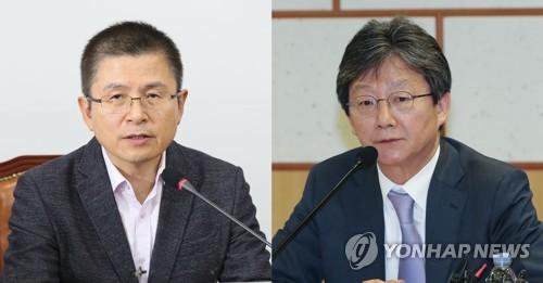 """황교안 회동제안에 유승민 """"협의진행 이후에""""…설 전 담판 무산"""