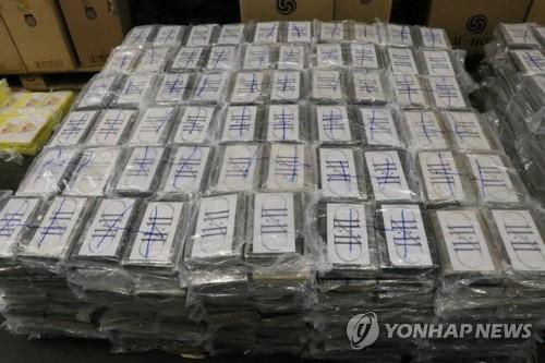 """화물선 이용 마약밀수 급증…""""코카인 적발 3년새 3배로"""""""