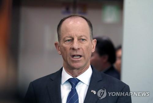 """스틸웰, 리선권 기용에 """"북 협상복귀에 긍정적으로 작용 희망""""(종합)"""