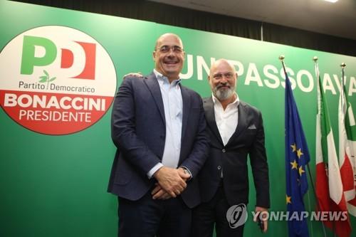 이탈리아 핵심 지방선거서 좌파 정당 승리…극우 기세 제동(종합)