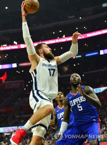 NBA 멤피스, 폴 조지 없는 클리퍼스 완파