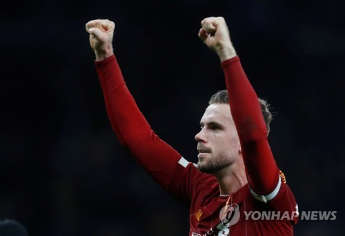 리버풀 헨더슨, 케인 제치고 잉글랜드 '올해의 선수'로 선정