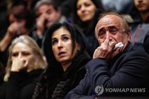 """캐나다 '우크라이나 여객기 추락' 추모회…트뤼도 """"책임 묻겠다""""(종합)"""