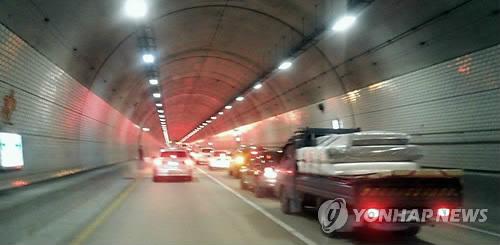 강원 미시령터널 구간 과속단속 이달 중순부터 정상 운영