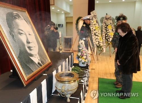 '임시정부 국무총리' 노백린 장군 순국 94주기 추모식