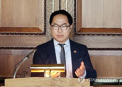 """앤디 김 미국 하원의원 """"스냅백 방식의 대북제재 완화 검토해야"""""""