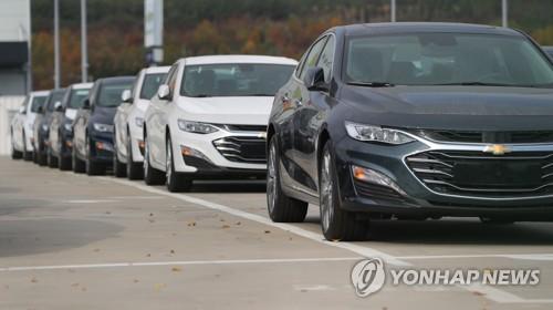 작년 국내 자동차 판매액 59조원, 2.9%↑…수입차 점유율 28%