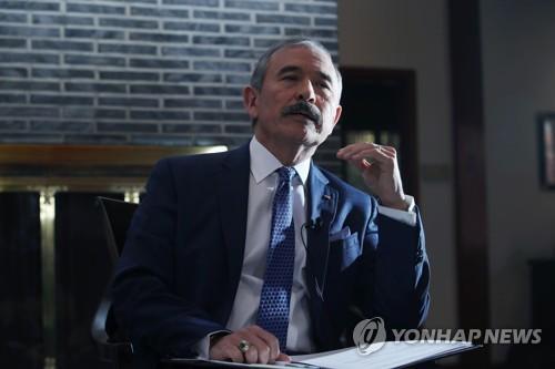 """해리스, 개별관광 등 남북협력 구상 '견제'…""""워킹그룹 거쳐야""""(종합2보)"""