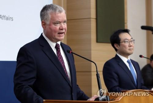 이도훈, 비건과 전화 통화…北김정은 발언 평가 공유