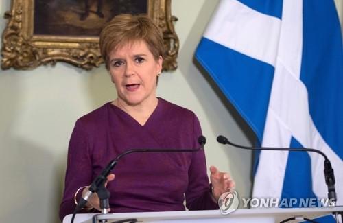 英 존슨, 스코틀랜드 자치정부 '분리독립 주민투표 요구' 거부